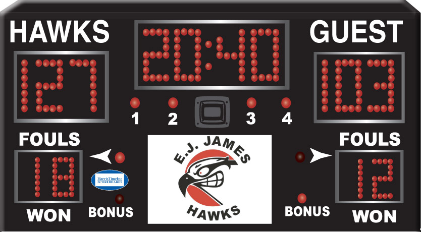Harris Time scoreboard HT1500