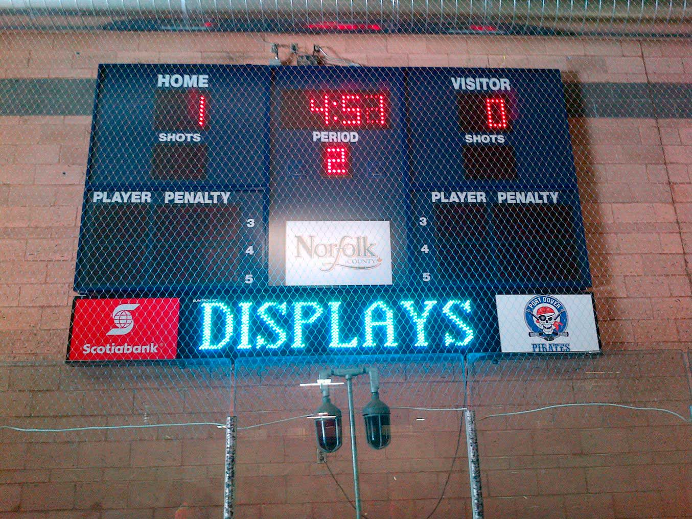 Harris Time Scoreboards